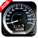 Digital analog GPS Speedometer simple-HUD Display icon