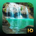 Peaceful Waterfall HD icon