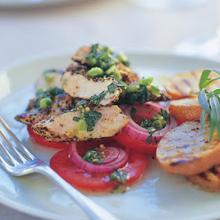 Chicken with Tarragon and Peppercorn Dressing