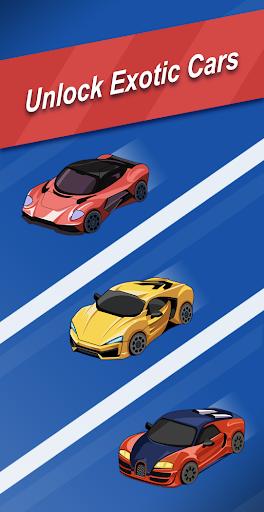 Ultimate Merge Cars: Idle Driving & Racing Tycoon apktram screenshots 4