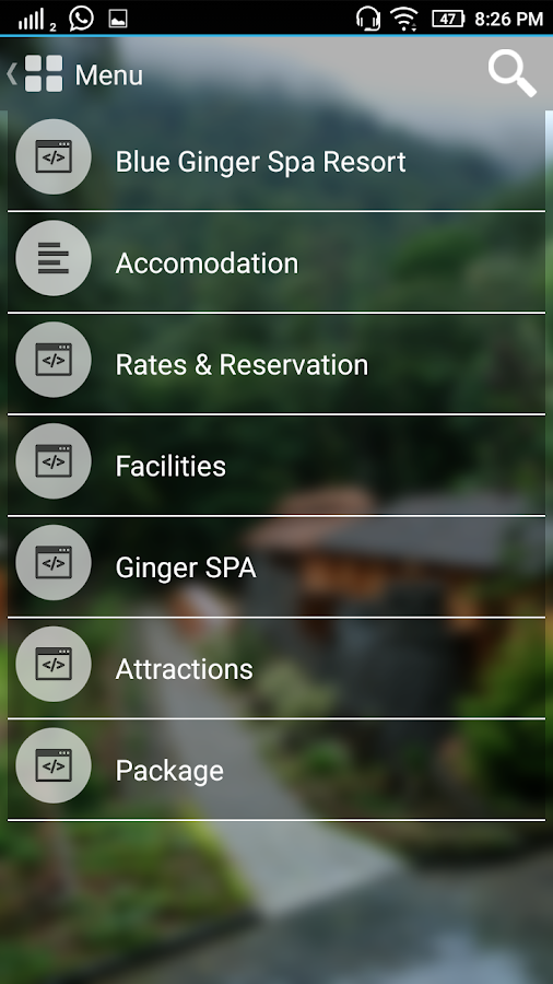 Blue Ginger Spa Resorts- screenshot