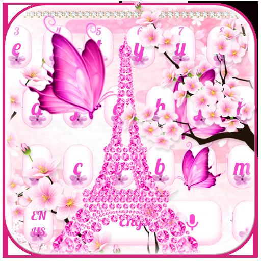 Cherry Blossom Tower Keyboard
