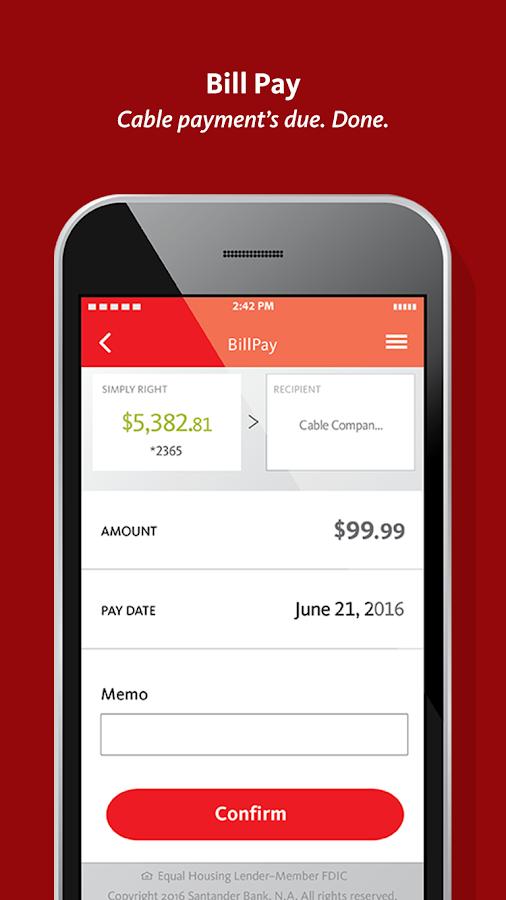 Santander Personal Banking Online