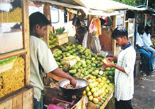 Photo: Salted Mango  Badulla Sri Lanka