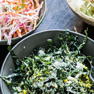 Celery, Apple, and Fennel Slaw.