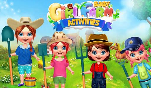Baby Girl Farm Activities v1.0.1