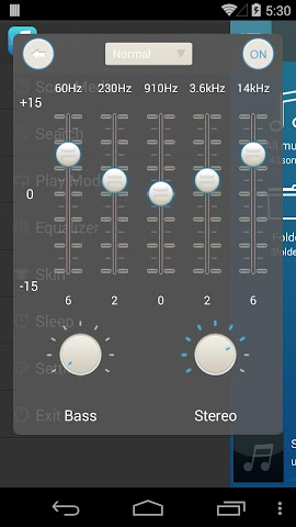 android Mp3 Music Player Screenshot 1