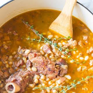 Nana's Epic Navy Bean Ham Bone Soup.