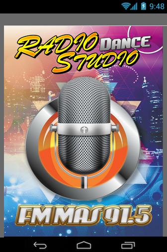 FM Mas 91.5 Radio Studio Dance