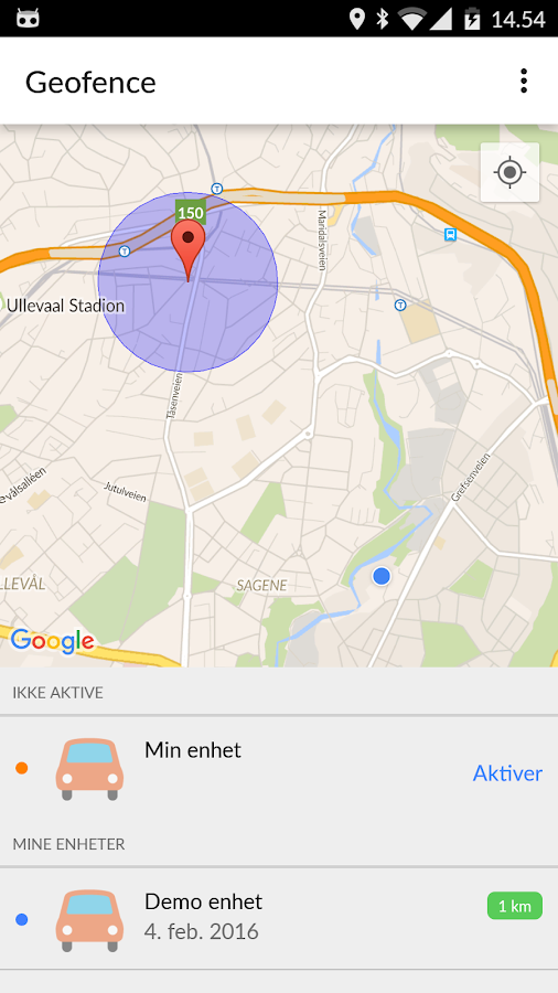 Geofence- screenshot