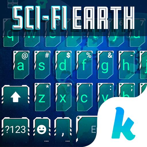 Sci-Fi Earth Kika Keyboard