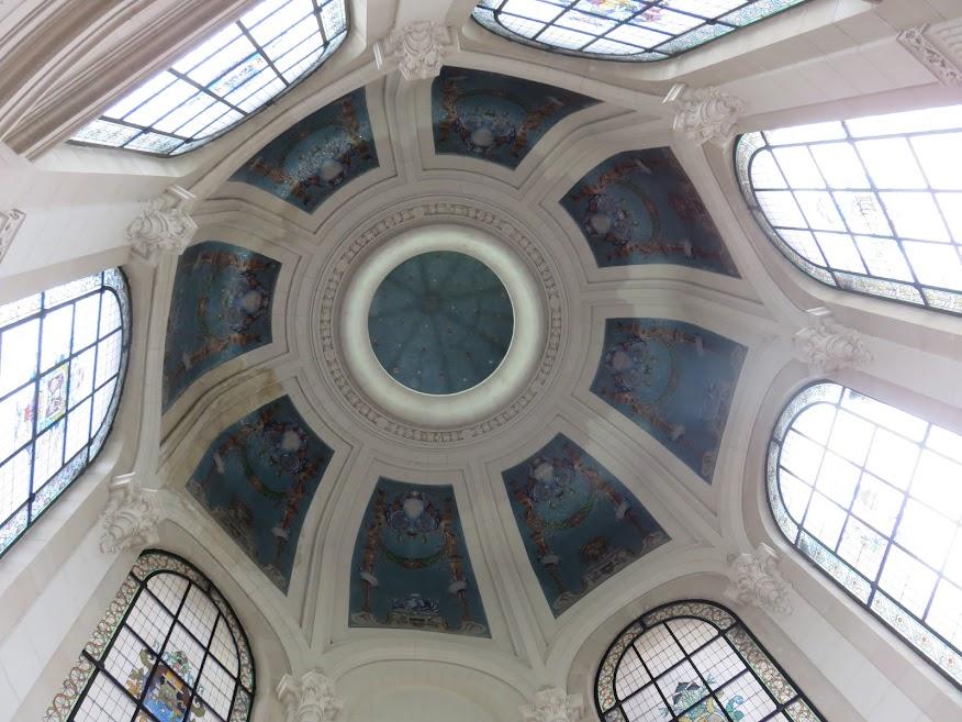 culturele stad lille - palais des beaux arts plafond