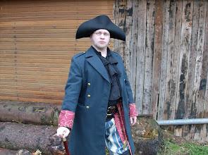 """Photo: (Noch) Capitaine Myron d'Auras von der """"Morgenstern""""."""