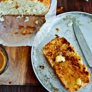 Toasted Coconut & Lime Bread