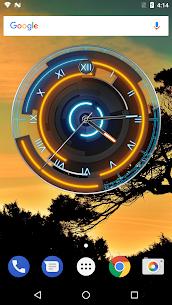 3D Neon Blue Clock 7.5.3 APK Mod Latest Version 1