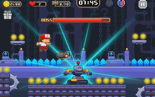 Super Jim Jump - pixel 3d 3.5.5002 screenshots 13