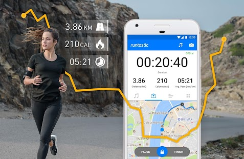 Runtastic Running App & Mileage Tracker Screenshot