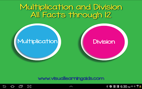MultiplicationDivisionFlashCds- screenshot thumbnail