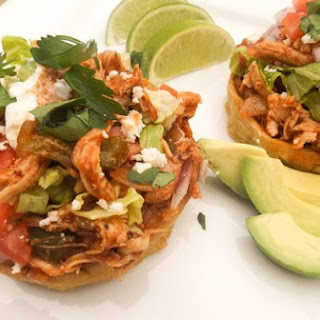 Chicken Sopes.