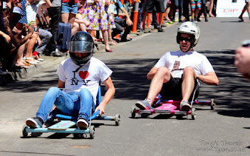 Photo: Street Race in Melbourne, Victoria