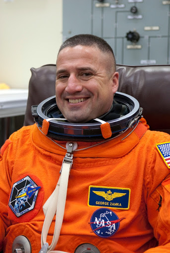 STS-130 LAUNCH L 0 SUITING.