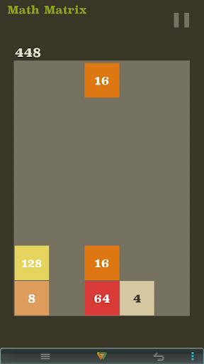 MATHRIS - 2048 Numbers Bricks