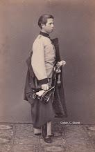 Photo: 1864 - L.S. Asburgo-Lorena Borbón a Vienna Fotografía cortesía archivo Dr. C.Giunti