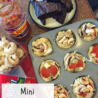 Muffin Tin Pizza.
