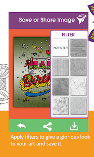 Coloring-Adult Recoloring Book- screenshot thumbnail