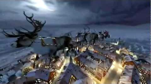 Santa Claus llegó a la ciudad