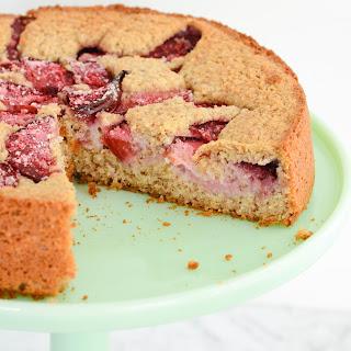 Plum Cake {gluten free + paleo friendly}