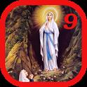 Novena to Our Lady of Lourdes icon