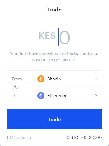 Trading bei Coinbase