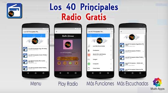Los 40 Principales Radio Gratis - náhled