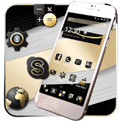 Elegant Gold Black Theme