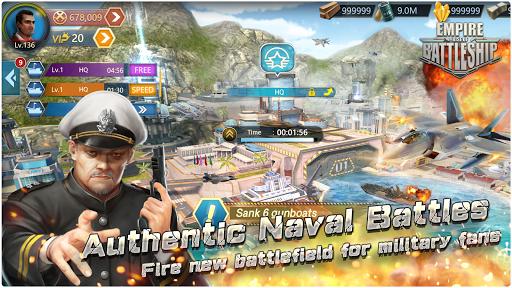 Empire:Rise Of BattleShip apkpoly screenshots 1