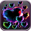 Magic Hearts Live Wallpaper icon