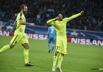 Milicevic en Depoitre brengen Gent een ronde verder in de Champions League