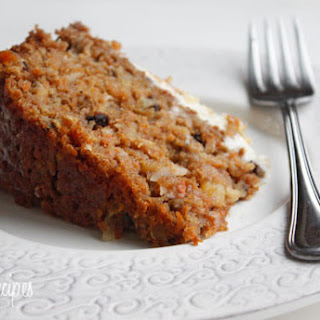 Carrot Cake Icing Flavor Recipes