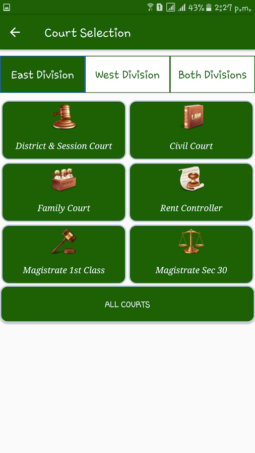 Case App DC- screenshot