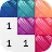 Cross Stitch Club —Coloring by Number Icône