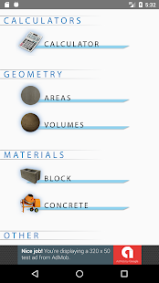 Concrete Calculator- screenshot thumbnail