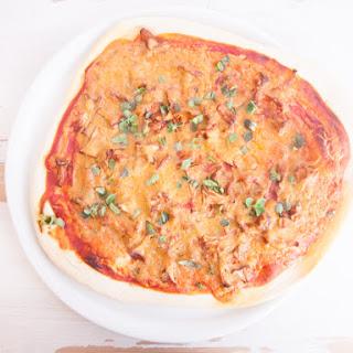 Super Creamy Chanterelle Pizza