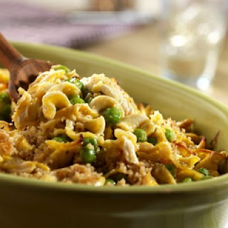 Chicken, Butternut Squash & Noodle Casserole