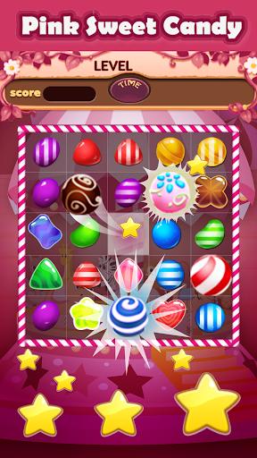 ピンクスウィートキャンディマッチ3