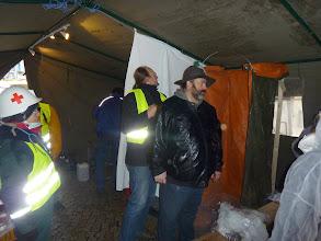 """Photo: """"Jörg"""", der den Anhänger für das Zelt gestellt hat..."""