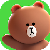 LINE FRIENDS - characters / backgrounds / GIFs