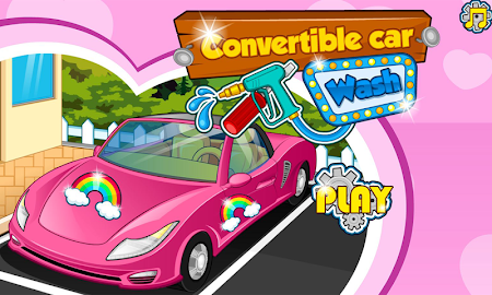 Convertible car wash 1.0.3 screenshot 2061540