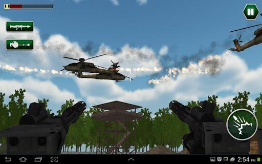 直升機對空攻擊:攻擊