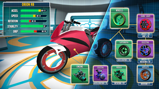 Gravity Rider: Extreme Balance Space Bike Racing 1.18.0 screenshots 3